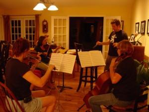 string rehearsal